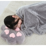 Coussin-couvertures-oreiller-multi-fonction-couverture-chat-pied-100x170-cm-corail-polaire-peluche-enfants-adulte-canap