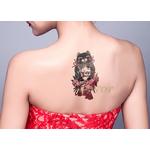 Autocollant-de-tatouage-temporaire-tanche-japon-amour-poup-e-mascotte-chat-faux-tatto-flash-tatoo-tatouage
