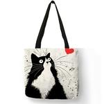 Style-Simple-femmes-sac-main-dessin-anim-mignon-chat-noir-imprime-sac-bandouli-re-Eco-lin