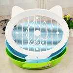 Pet-chat-lapin-pipi-toilette-ronde-ferm-e-chiot-chaton-casseroles-pour-chats-petit-Animal-Hamster