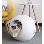 Bac-liti-re-totalement-ferm-grand-clapet-Anti-claboussures-d-odorant-chien-chat-toilette-lapin-pot