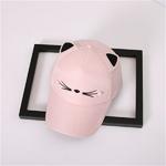 Snapback-mignon-chat-oreilles-rose-adulte-Net-casquette-de-Baseball-t-femmes-chapeaux-2018-marque-belle