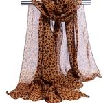 Mode-dame-imprim-l-opard-charpe-femmes-t-longues-charpes-ch-les-en-mousseline-de-soie