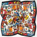 100-Foulard-en-soie-femmes-Foulard-chats-Foulard-Designer-Foulard-en-soie-Bandana-2019-Foulard-petit