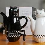 Théière cafetière Chat (1)