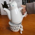 Théière cafetière Chat (2)