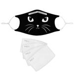 4-pi-ces-de-masques-anti-poussi-re-de-chat-noir-filtr-masques-lavables-et-r