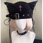 Chapeau Chat gothique (6)
