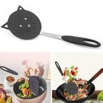 Cr-atif-Nylon-chat-friture-spatule-antiadh-sive-Omelette-pelle-frit-poisson-tourneur-cr-pe-Flipper