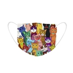 Masque jetable adulte chat (17)
