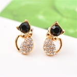 Boucles chat strass (3)