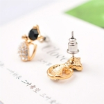 Boucles chat strass (7)
