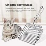 Liti-re-pour-chat-Scoop-acier-inoxydable-m-tal-Pooper-Scoopers-animaux-liti-re-sable-pelle