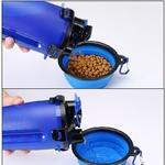 2-en-1-Mangeoire-Pour-Animal-Domestique-Chien-Bouteille-D-eau-En-Silicone-Pliable-Chien-Bol