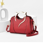 Sac-main-en-cuir-pour-femmes-sacs-bandouli-re-simples-nouveau-Style-mode-chat-Portable-couleur
