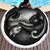 Yinyang-Chat-Matin-par-Khalia-Art-Ronde-Serviette-De-Plage-Microfibre-Serviette-De-Plage-Paisley-Couverture