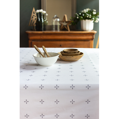 Nappe en coton imprimé collection CASSIOPEE