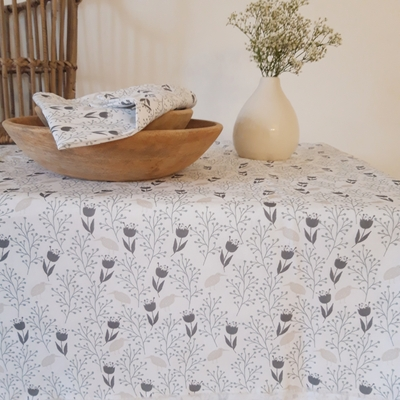 Nappe en coton Collection ROMANTIQUE