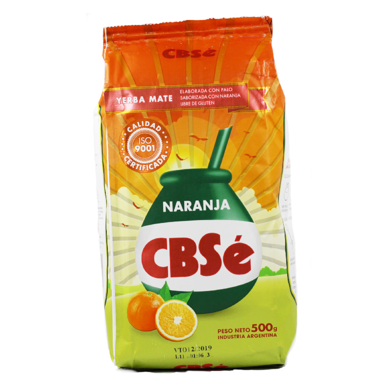CBSé Yerba Maté à l\'orange avec tiges