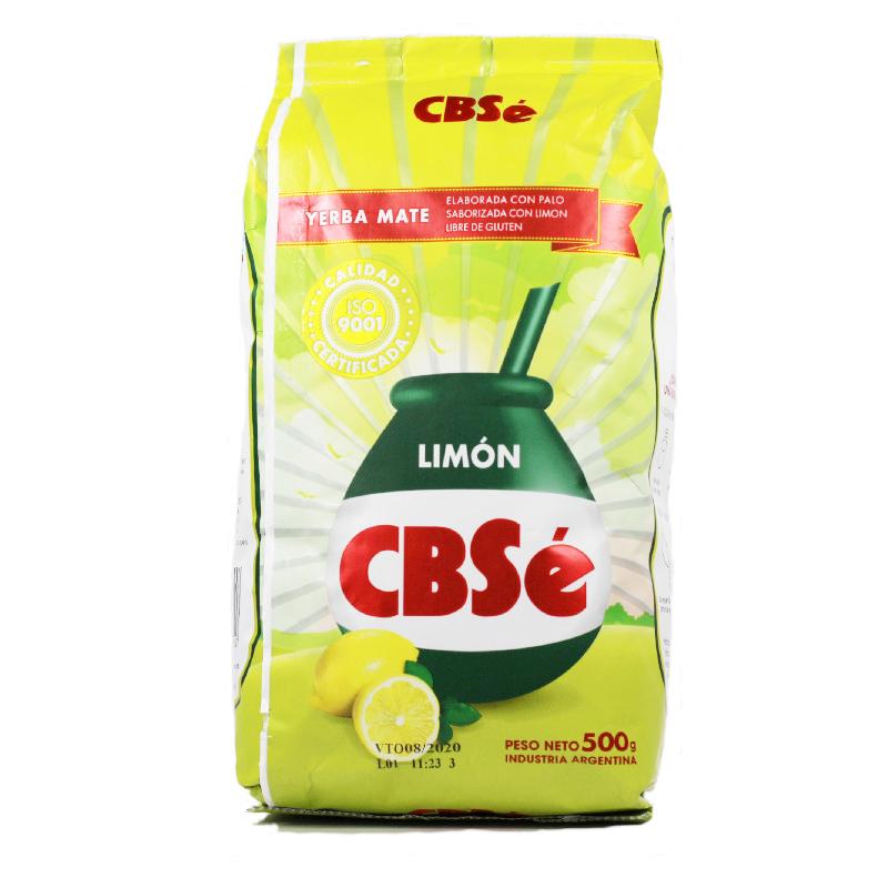 CBSé Yerba Maté citron avec tiges