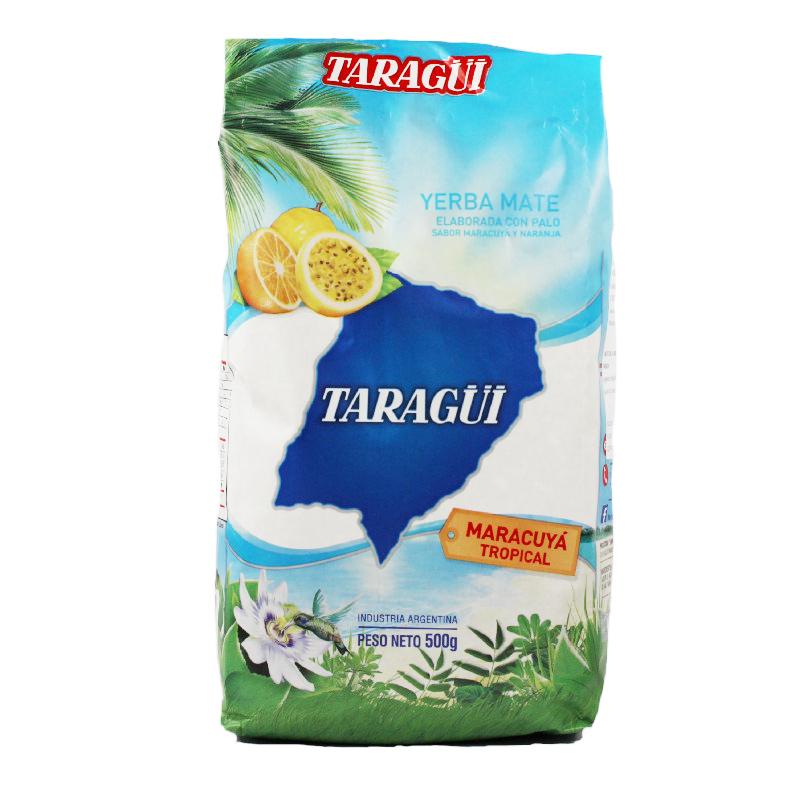 Taraguï Yerba Maté fruit de la passion avec tiges