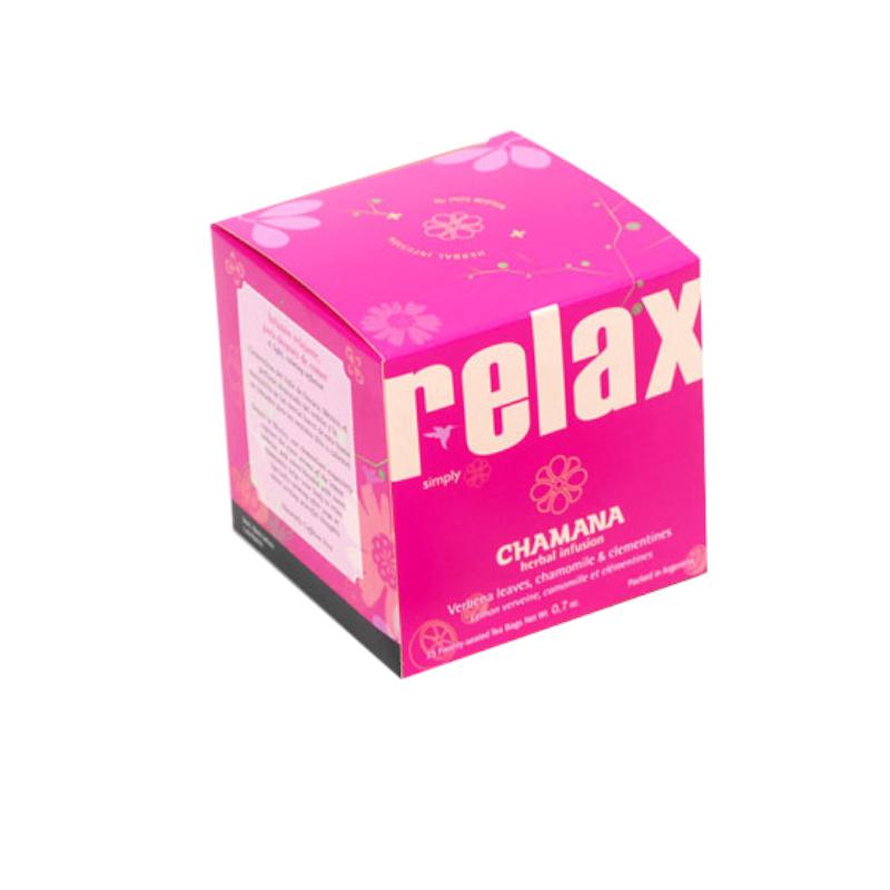 Boîte de 15 sachets d'infusion d'argentine Chamana Relax