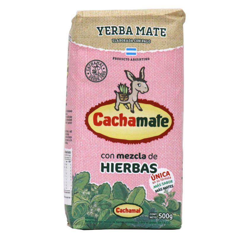 Cachamate Yerba Maté mélanges d\'herbes avec tiges