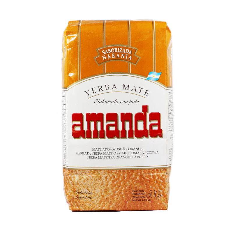 Amanda Yerba Maté à l\'orange avec tiges