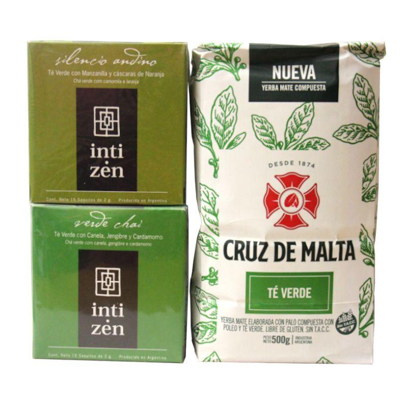 Pack thé vert