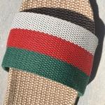 Les Mauricettes pour homme en mules tricolores pour la plage