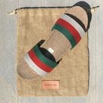Les Mauricettes pour homme en mules tricolores