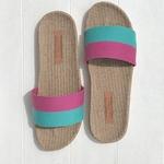 Claudine2 les mauricettes chaussures de plage légères en lin