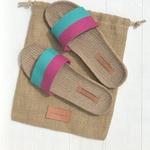 Claudine7 les mauricettes sandalettes de voyage confortables