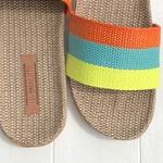 Colette6 chaussures confortables dété en lin pour femme