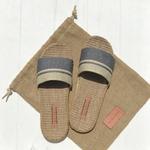 Georgette1 les mauricettes pantoufles en lin mode femme