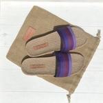 Germaine1 les mauricettes mules dété couleur violette légère