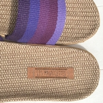 Germaine6 les mauricettes violettes claquettes de plage
