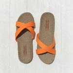Monique4 les mauricettes croisées pour la plage sandales femme