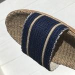 antoinette5 les mauricettes sandalettes coton et lin vacances dété