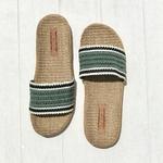 Les Mauricettes de Camille claquettes kaki