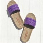 Les Mauricettes de Sidonie sandalettes plage et vacances légères violette