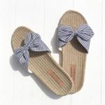 Les Mauricettes sandalettes bleues légères plage et voyage