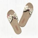 Les Mauricettes fleuries légères pour l'été, claquettes confortables