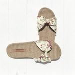 Les Mauricettes fleuries légères pour lété, claquettes confortables