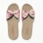 Les Mauricettes fleuries légères pour l'été, claquettes vacances