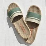 les mauricettes sandalettes d'été kaki et beige fouta