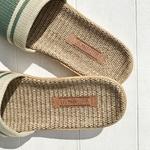les mauricettes sandalettes dété kaki et beige legeres