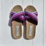 Les Mauricettes de Ninon, claquettes de plage et pantoufles légères mules d'été