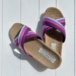 Les Mauricettes de Ninon, claquettes de plage et pantoufles légères pour vacances