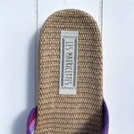 Les Mauricettes de Ninon, claquettes de plage et pantoufles légères en chanvre